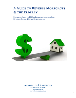 A Guide to Reverse Mortgages & The Elderly